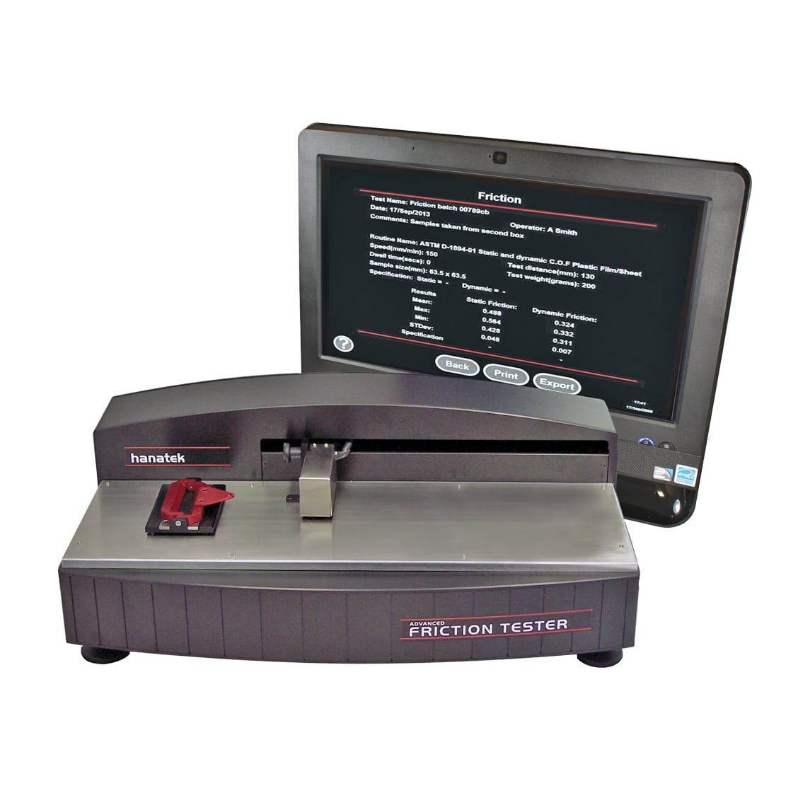 Hanatek AFT Advanced Friction Tester
